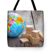 World Import And Export Tote Bag by Aged Pixel