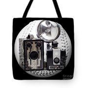 World Travelers Baseball Square Tote Bag by Andee Design