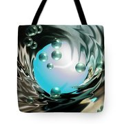 Worlds Apart Tote Bag by Cheryl Young
