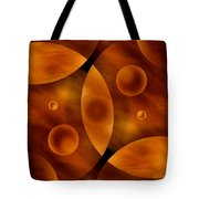 Worlds Collide 13 Tote Bag by Mike McGlothlen