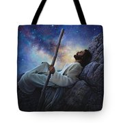 Worlds Without End Tote Bag by Greg Olsen