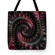 Wrapped Tails Tote Bag by Bill Owen
