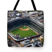 Wrigley Field Chicago Sports 02 Tote Bag by Thomas Woolworth
