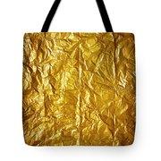 Wrinkled Paper Tote Bag by Carlos Caetano
