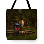 Writer - Wating For Him  Tote Bag by Mike Savad