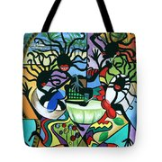 Ya Mon Tote Bag by Anthony Falbo