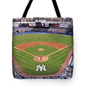 Yankee Stadium Tote Bag by Allen Beatty