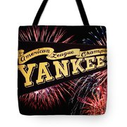 Yankees Pennant 1950 Tote Bag by Bill Cannon