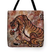 Year Of The Tiger Tote Bag by Darice Machel McGuire