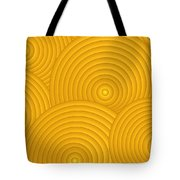 Yellow Abstract Tote Bag by Frank Tschakert