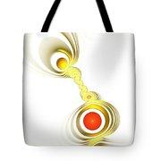 Yellow Connection Tote Bag by Anastasiya Malakhova