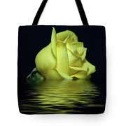 Yellow Rose II Tote Bag by Sandy Keeton