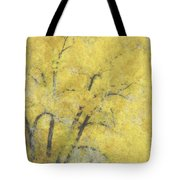 Yellow Trees Tote Bag by Ann Powell