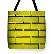 Yellow Wall Tote Bag by Semmick Photo