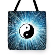 Yin Yang Tote Bag by Tim Gainey