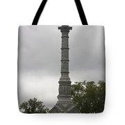 Yorktown Monument Tote Bag by Teresa Mucha