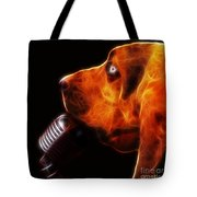 You Ain't Nothing But A Hound Dog - Dark - Electric Tote Bag by Wingsdomain Art and Photography