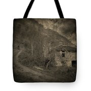 You Are Not Here Tote Bag by Taylan Apukovska
