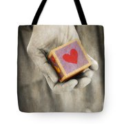 You hold my heart in your hand Tote Bag by Edward Fielding