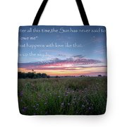You Owe Me Tote Bag by Bill Wakeley