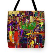 You Saw No Picture 11 Tote Bag by David Baruch Wolk