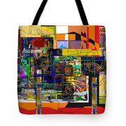 You Saw No Picture 5 Tote Bag by David Baruch Wolk