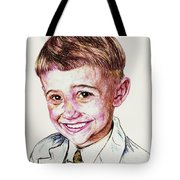 YOUNG BOY Tote Bag by PainterArtistFINs Husband MAESTRO