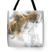 Young Man Tote Bag by Evie Carrier