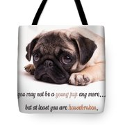 Young Pup Tote Bag by Edward Fielding
