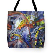 Your Face When I Told You Tote Bag by Thomas Hampton