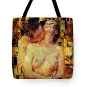 You're Mine Tote Bag by Kurt Van Wagner