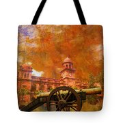 Zamzama Tope Or Kim's Gun Tote Bag by Catf