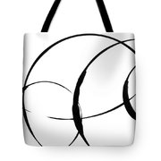 Zen Circles 3 Tote Bag by Hakon Soreide