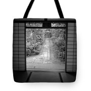 ZEN GARDEN WALKWAY Tote Bag by Daniel Hagerman