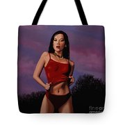 Zhang Ziyi Tote Bag by Paul Meijering