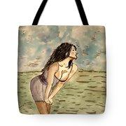 Zina Passion Tote Bag by Shlomo Zangilevitch