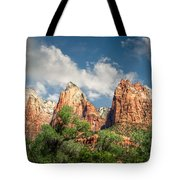 Zion Court Of The Patriarchs Tote Bag by Tammy Wetzel
