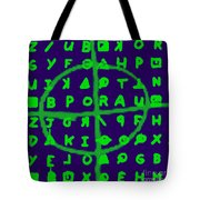 Zodiac Killer Code And Sign 20130213p128 Tote Bag by Wingsdomain Art and Photography