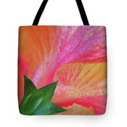 Hibiscus Tote Bag by Kathy Yates