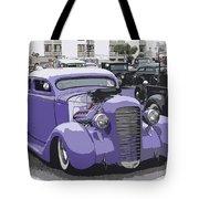 Hot Rod Purple Tote Bag by Steve McKinzie