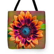 Orange Flowers In Their Buttonholes Tote Bag by Gwyn Newcombe