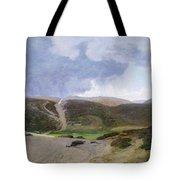 Scandinavian Landscape  Tote Bag by Janus la Cour