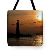 018 Sunset Series Tote Bag by Michael Frank Jr