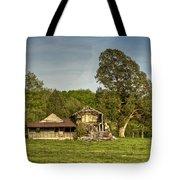 Abandoned Collapsed Farm House Tote Bag by Douglas Barnett