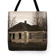 Abandoned Farm House Tote Bag by Richard Wear