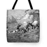 AFRICA: SLAVE TRADE, 1892 Tote Bag by Granger
