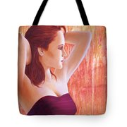 Along Came Pixy. Tote Bag by Laurens  Vermaesen