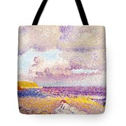 An Incoming Storm Tote Bag by Henri-Edmond Cross