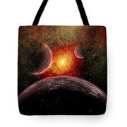 Artist Concept Illustrating The Stellar Tote Bag by Mark Stevenson