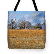 Artist In Field Tote Bag by William Jobes